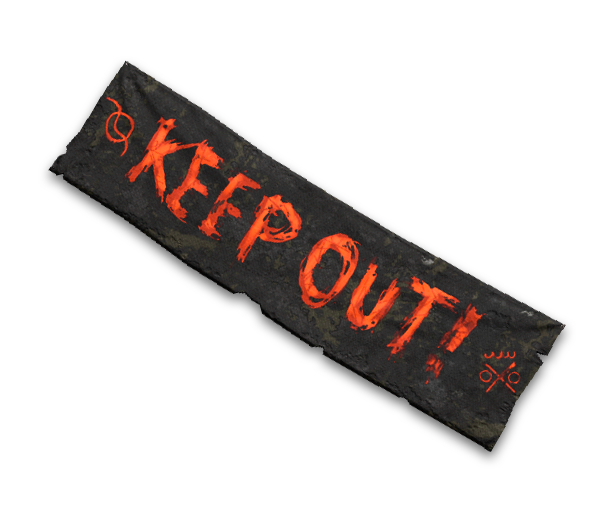 Banner: Keep Out Recipe
