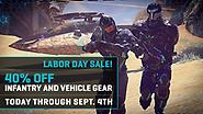 Gear Grab: 40% Off All Infantry and Vehicle Gear!