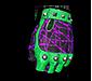 Black Magic Fingerless Gloves