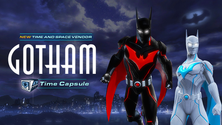 NOW AVAILABLE: Gotham Time Capsule and Vendor!