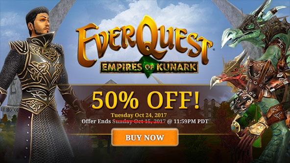 Empires of Kunark Expansion Sale
