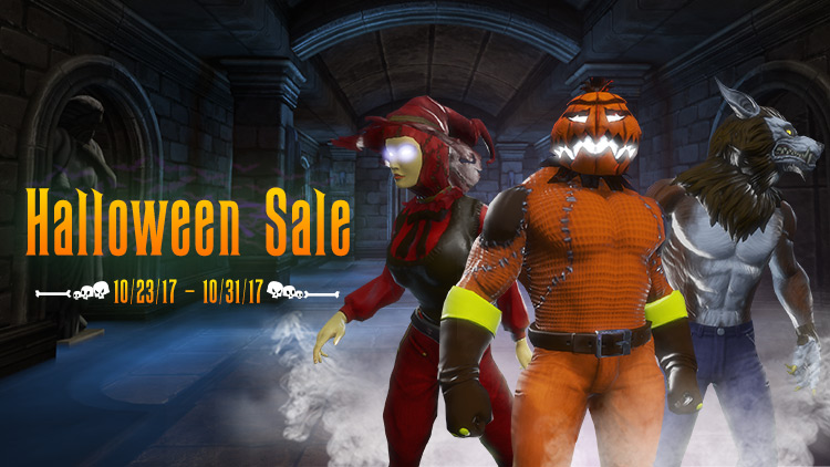 Halloween Sale! Plus, Haunted Lair Sweepstakes!
