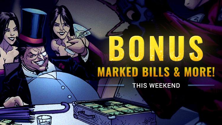 Bonus Currency Weekend! November 9-12