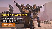 Members, Get Ready for Double XP This Weekend!