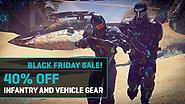Black Friday Flash Sale: 40% Off All Vehicle and Infantry Gear!