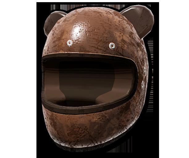 Grizzly Bear Helmet