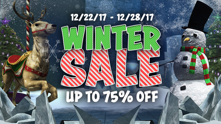 The DCUO Winter Sale!