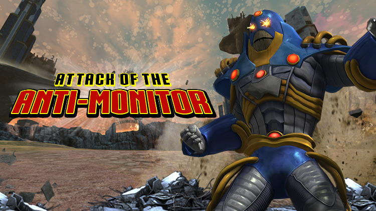 The Anti-Monitor Returns!