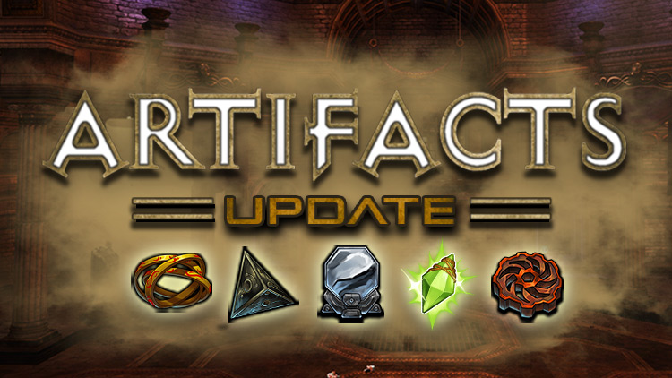 New Artifacts Ranks & More!