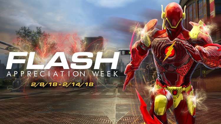 flash appreciation week dc universe online