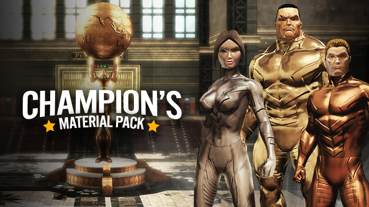 New in the Marketplace: Champion's Material Pack