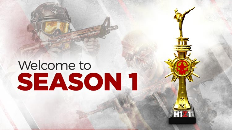 UPDATED] Welcome To Season One! | H1Z1 | Battle Royale