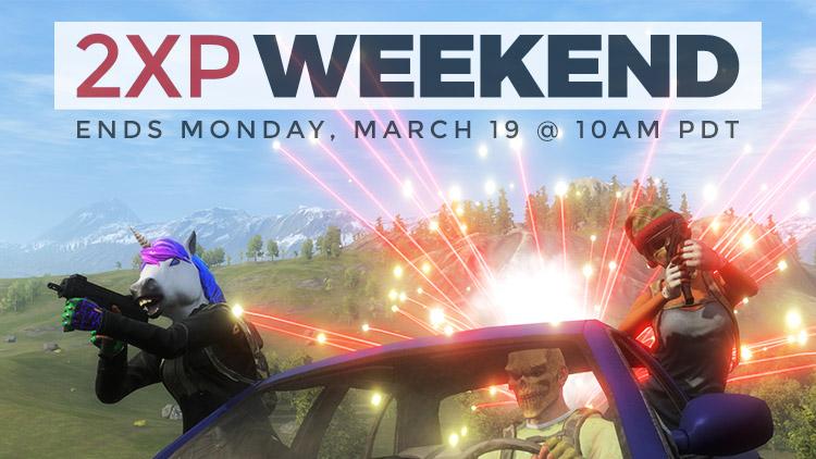 2XP Weekend