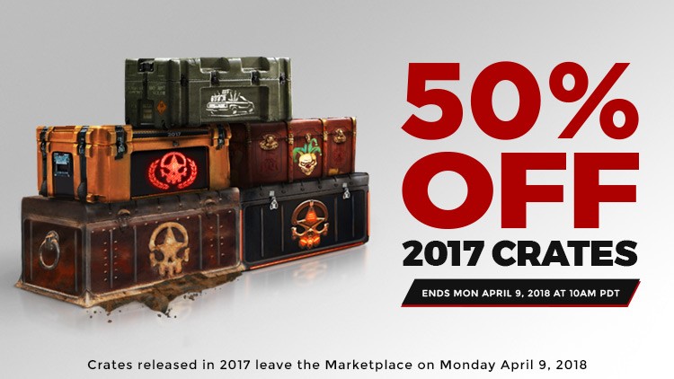 Crate Vaulting Sale