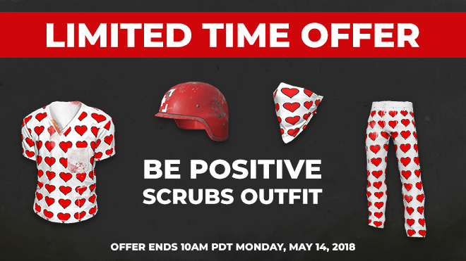 Be Positive Scrubs Outfit