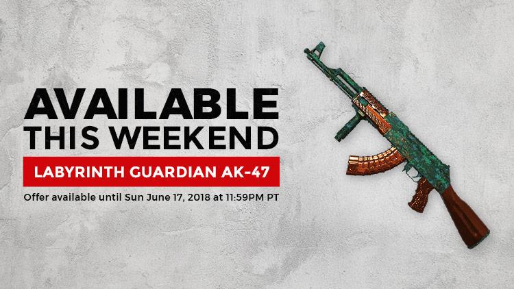 Labyrinth Guardian AK-47