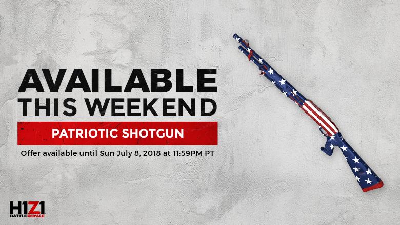 Patriotic Shotgun