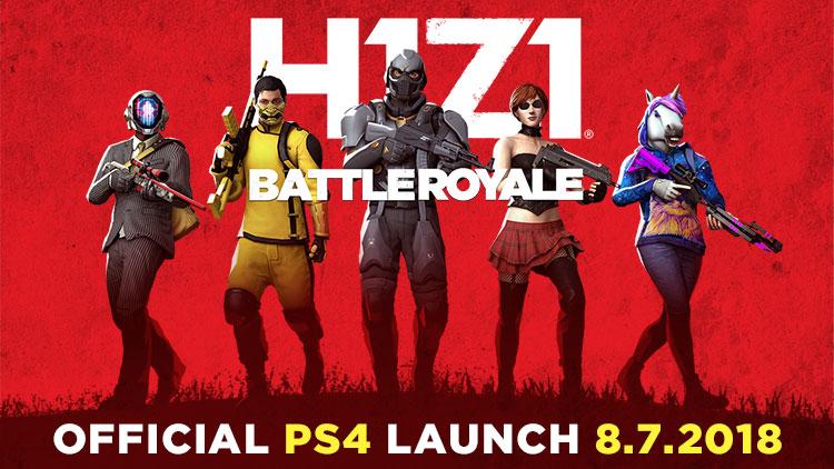 H1Z1 PS4 Launch