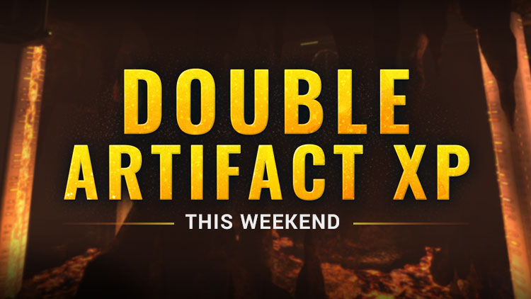 Double Artifact XP Weekend!