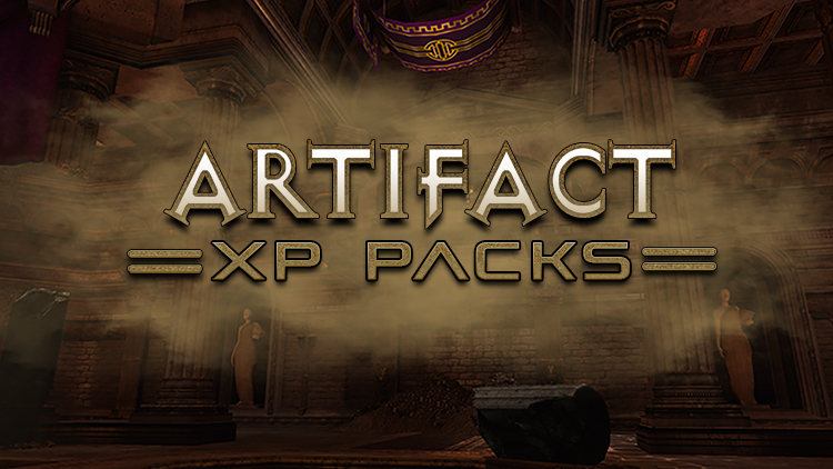 New in the Marketplace: Artifact XP Packs