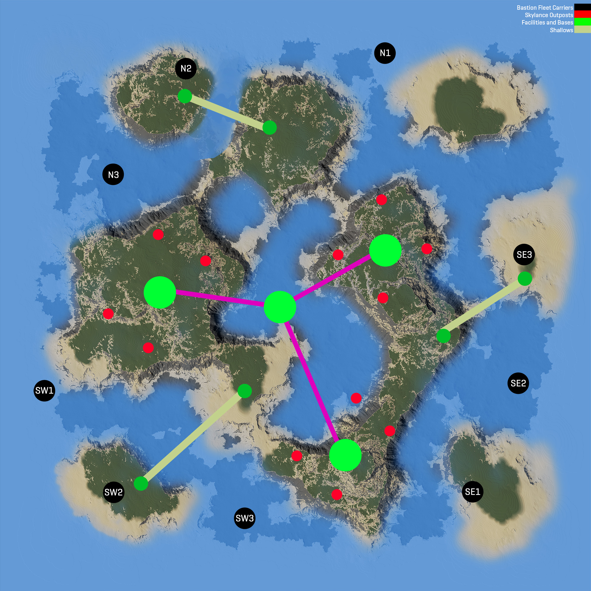 PlanetSide 2 - News - A New Continent to Explore: Oshur
