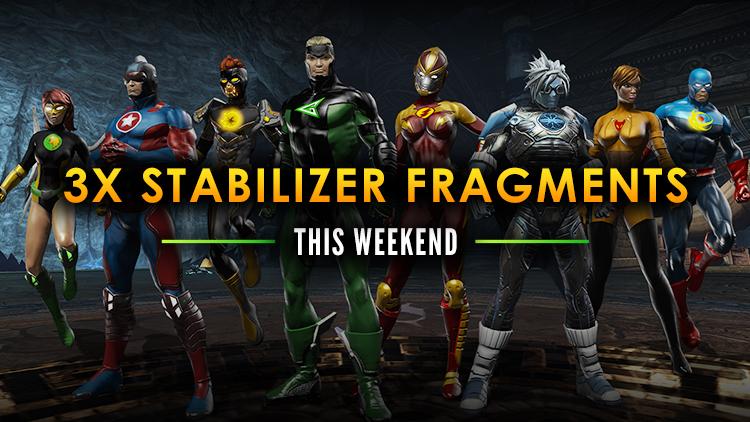Bonus Stabilizer Weekend!