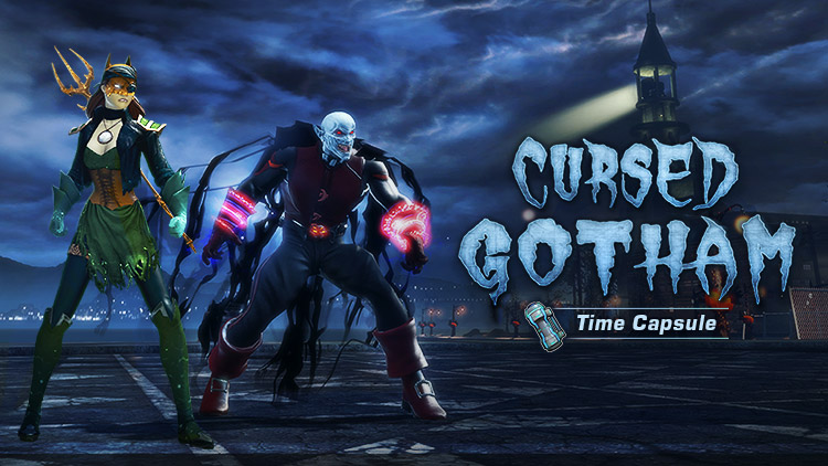 Now Available: Cursed Gotham Time Capsule!