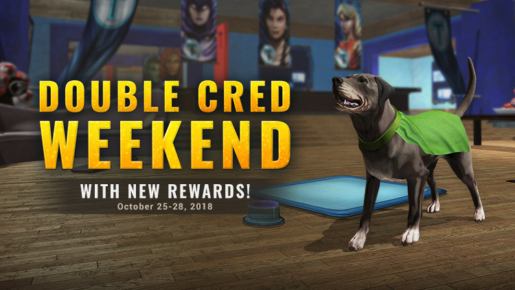 Double Cred Weekend & NEW Titans Rewards!