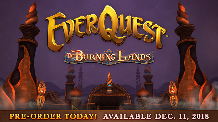 The Burning Lands Pre-Orders