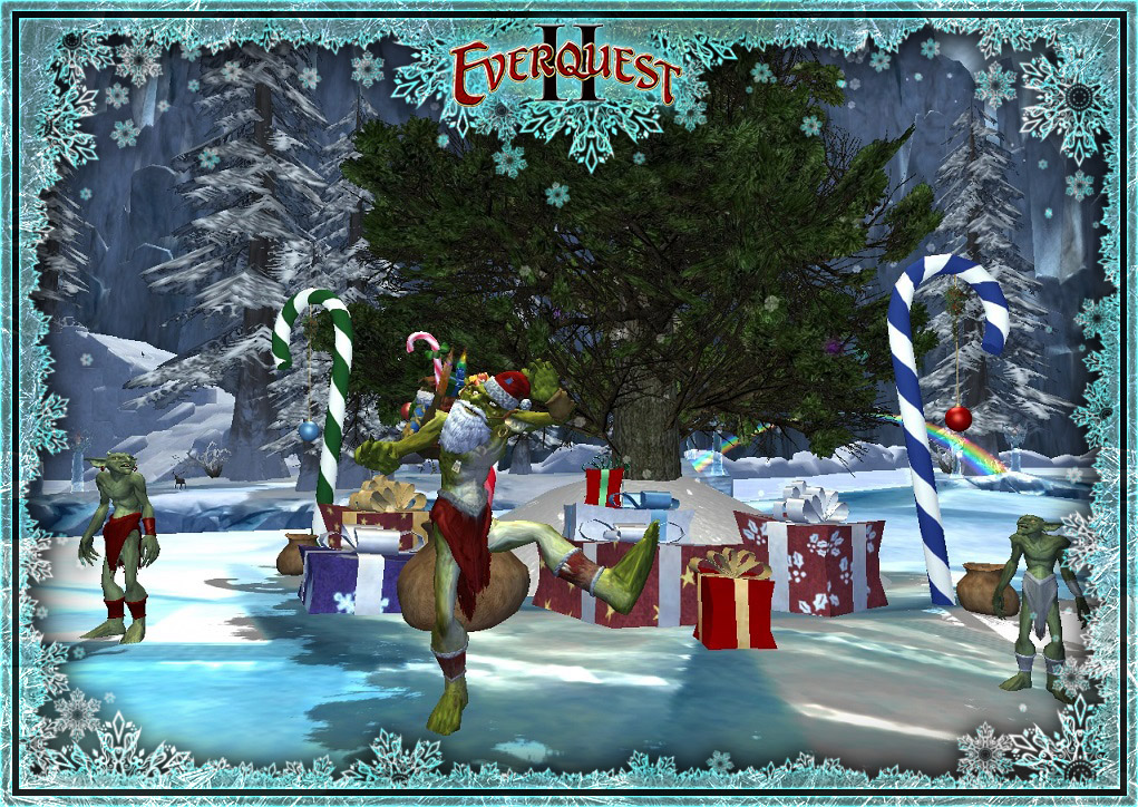 Eq2 Christmas 2020 Deck the Halls, Frostfell is almost here! | EverQuest II