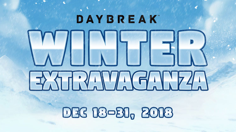 Daybreak Winter Extravaganza! | Daybreak Game Company