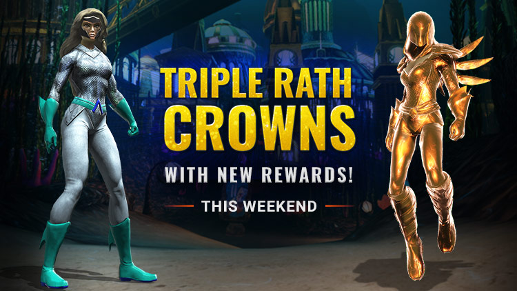 Triple Crowns Weekend & NEW Atlantis Rewards!