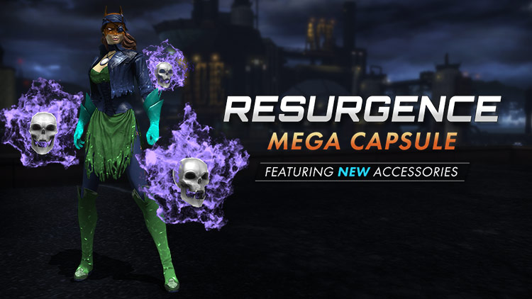 Resurgence Adds Animated Accessories!