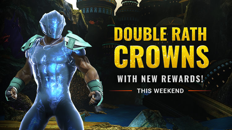 Double Crowns Weekend & NEW Atlantis Rewards!