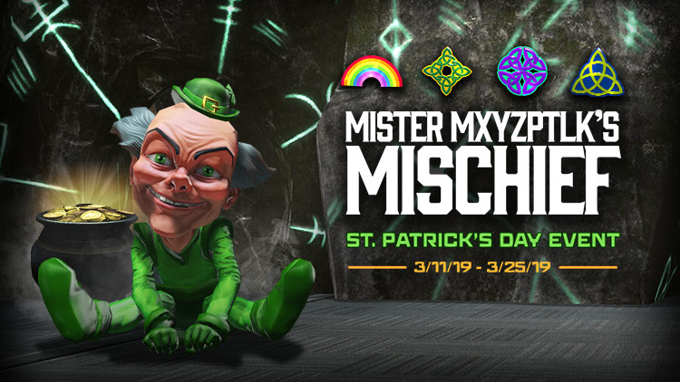 St. Patrick's Day Event!