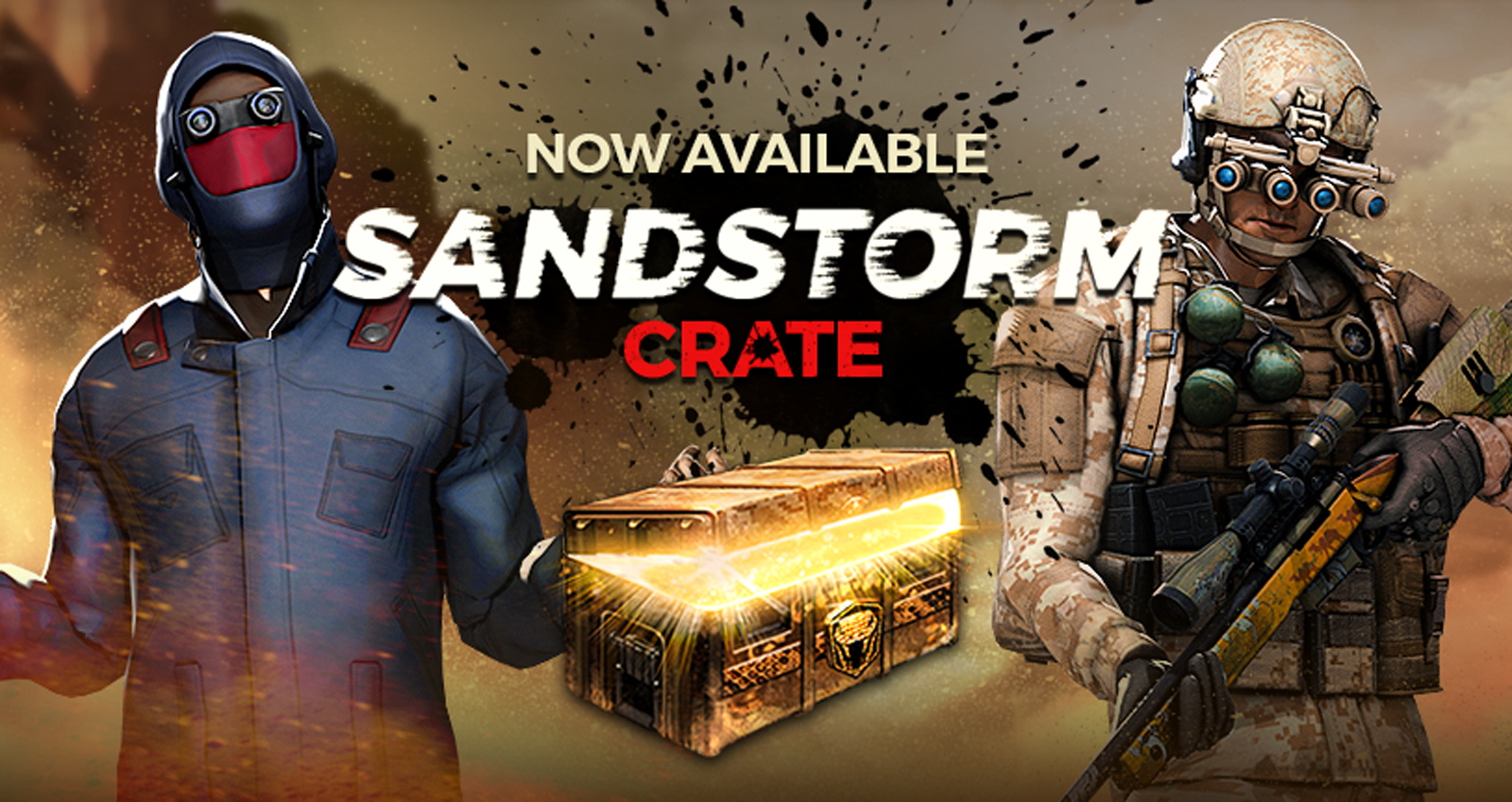 Sandstorm Crate Now Available | H1Z1 | Battle Royale | Auto