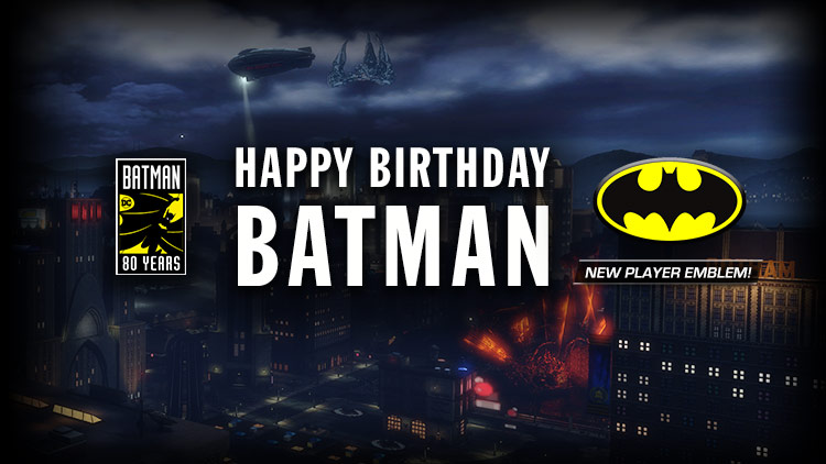 Happy Birthday, Batman!