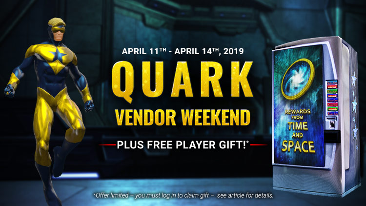 Quark Vendor Weekend!
