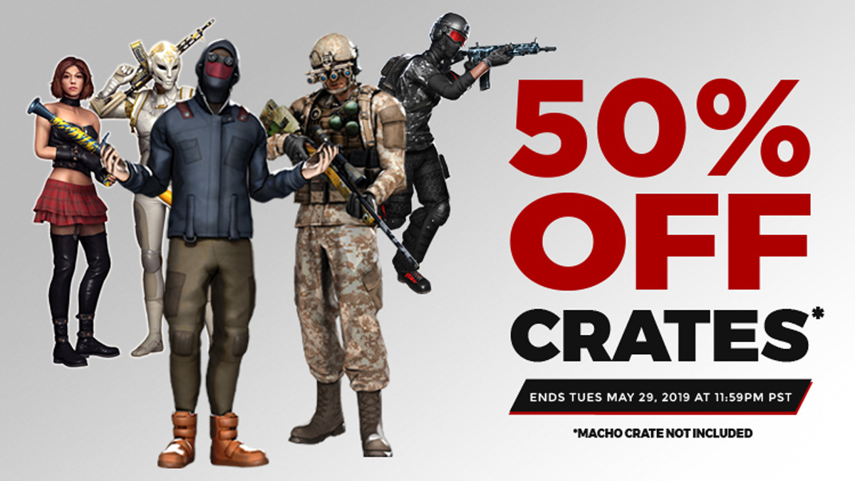 Holiday Weekend Crate Sale! | H1Z1 | Battle Royale | Auto Royale