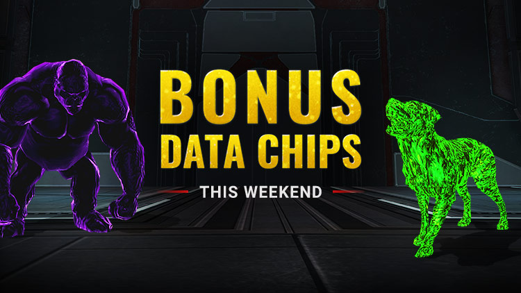 Bonus Data Chips Weekend!