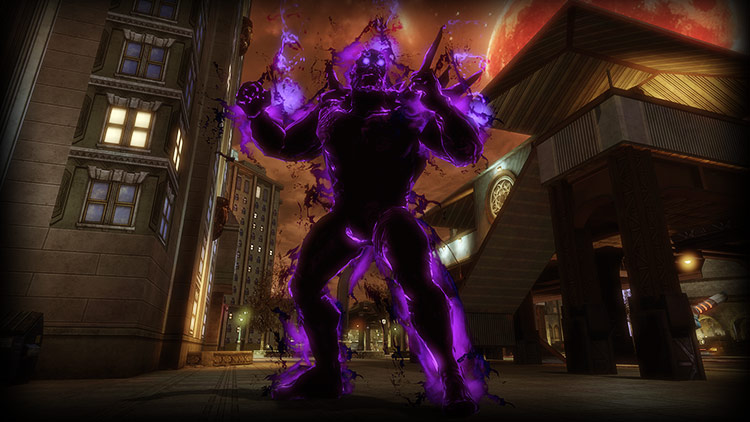 Justice League Dark: Giant Shadow Golem!
