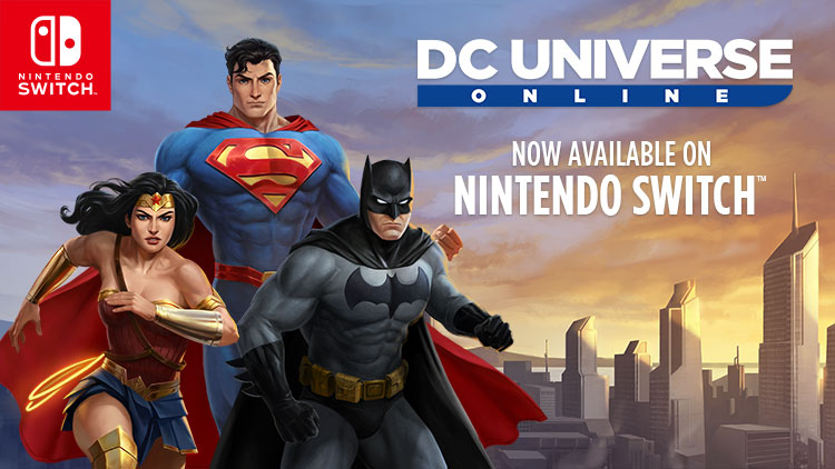 Now Available On Nintendo Switch!
