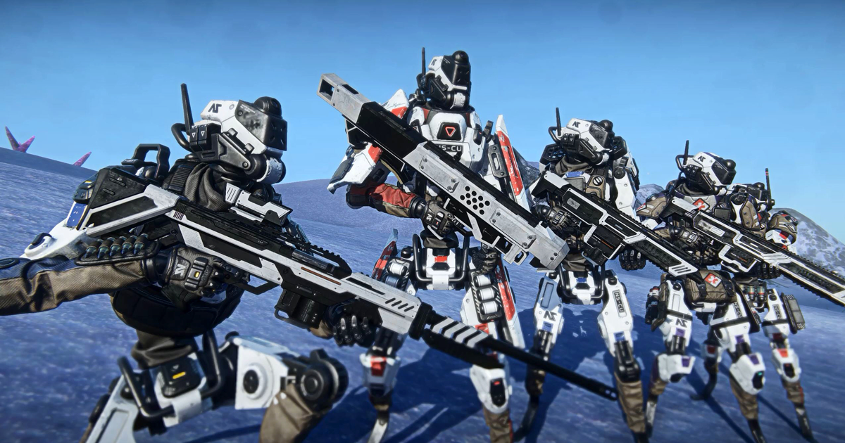 PlanetSide 2 - News - A New Soldier Game Update Launches Tomorrow on