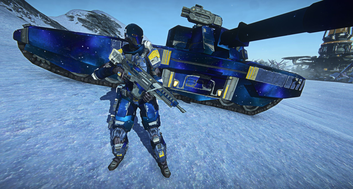 PlanetSide 2 - News - Celebrate the New Soldier PS4 Update with