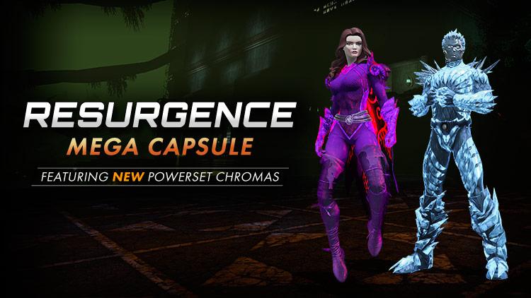 Resurgence Returns with Powerset Chromas!