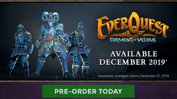 Torment of Velious Pre-Orders