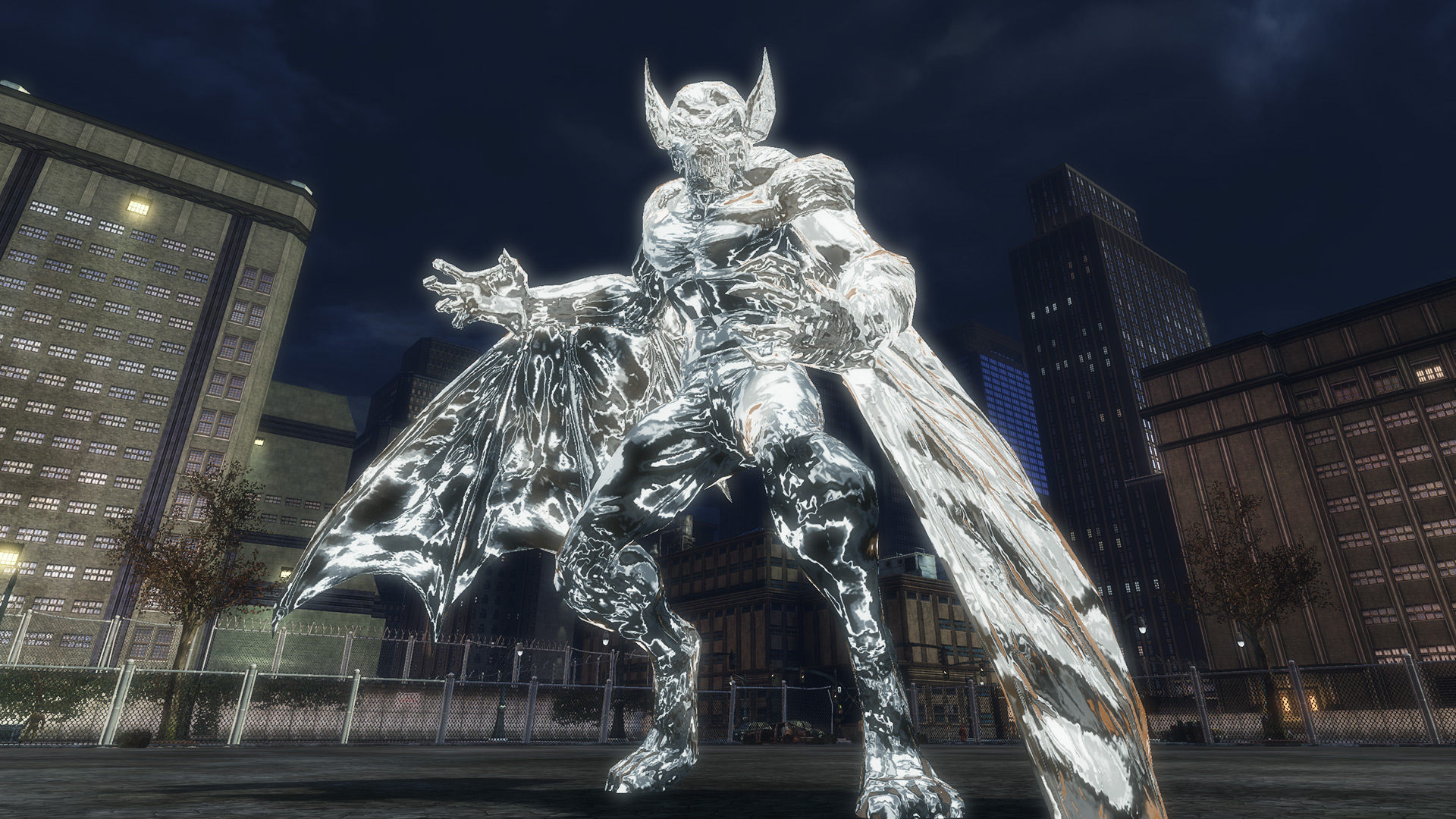 Metal Part I: Giant Metal Man-Bat