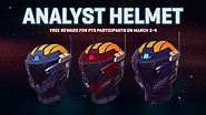 Join us on PTS and Earn a Free Analyst Helmet!