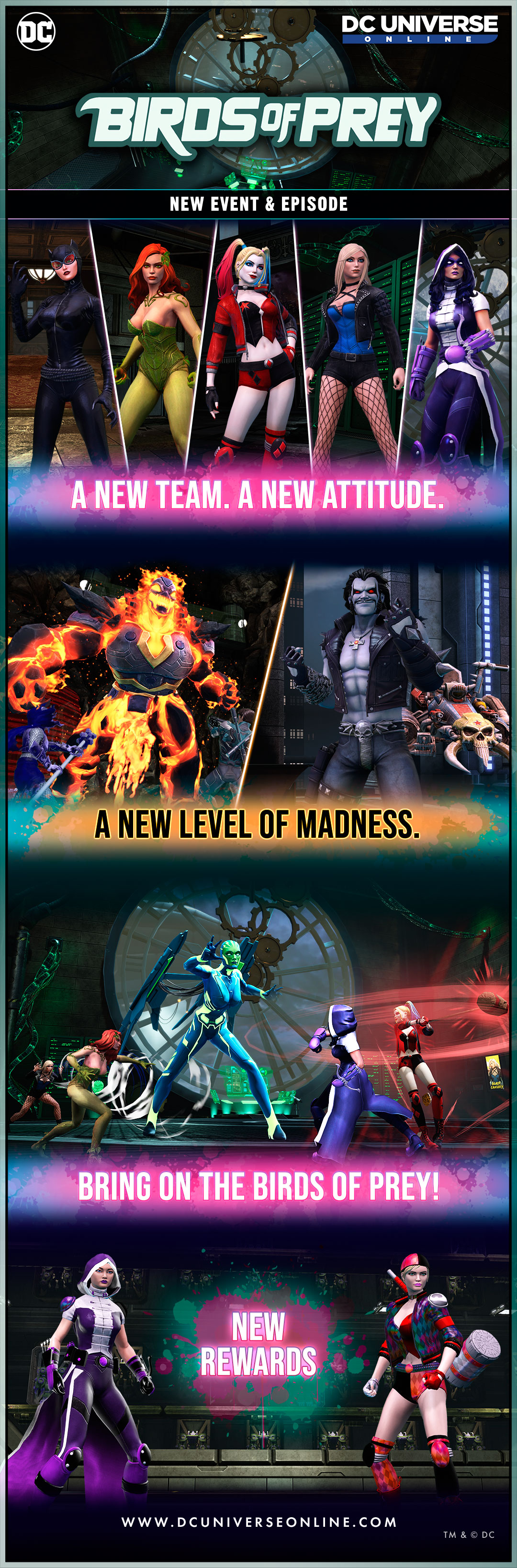New Episode Birds Of Prey Dc Universe Online