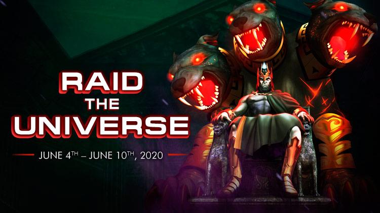 New Bonus Event: Raid the Universe!